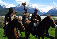Glenorchy locals riding in the movie Hercules