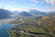 Glenorchy Township from the air